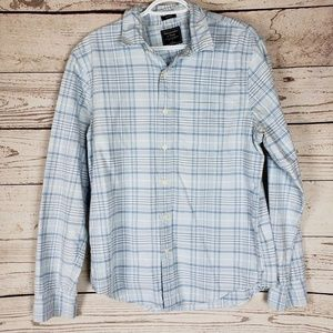 Abercrombie & Fitch Muscle Plaid Button Down Shirt